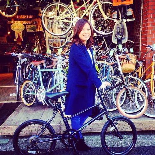 ☆今日のバイシクルガール10本立て☆ 自転車 女子 おしゃれ ミニベロ クロスバイク ロード_b0212032_20142384.jpg