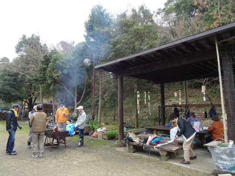 コクランの道作り本格的に始まった in うみべの森_c0108460_16202529.jpg