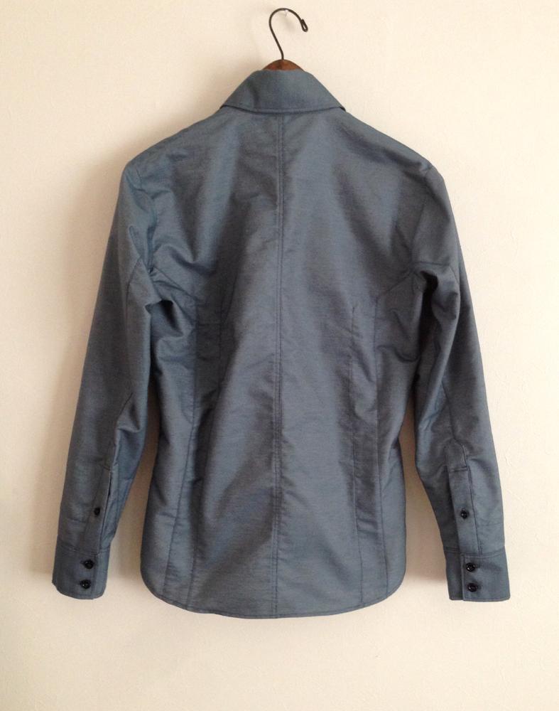 水色生地の切り替えのシャツ (フルオーダー)_b0199696_1915511.jpg