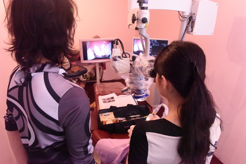 ニュータイプ歯科衛生士 東京マイクロスコープ顕微鏡歯科治療_e0004468_7452446.jpg