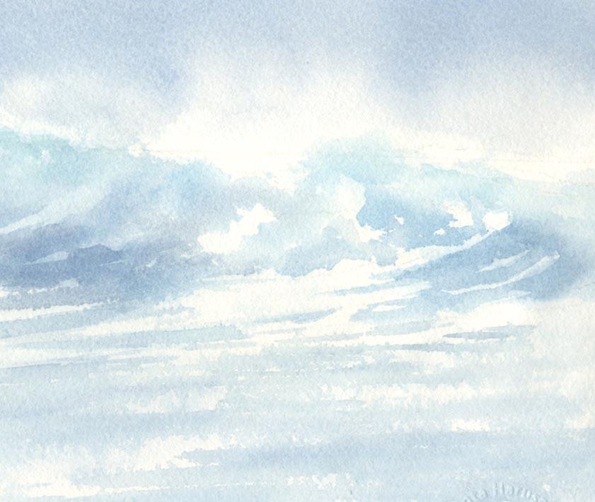 海 水彩画_f0176370_14215233.jpg