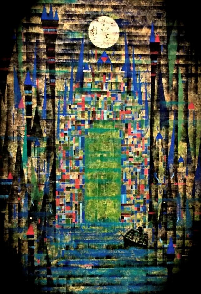 『cubic fantasy』 M100号_a0113071_11481540.jpg