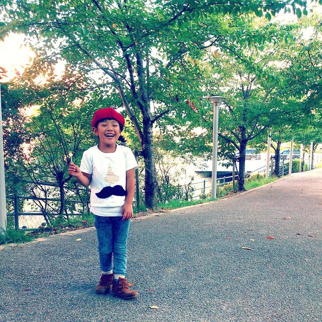 子供帽子 inaho_a0142923_1775576.jpg