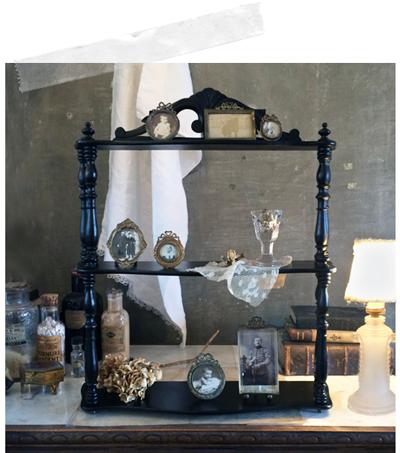 miniature* ナポレオン3世風 飾り棚_e0172847_08204730.jpg