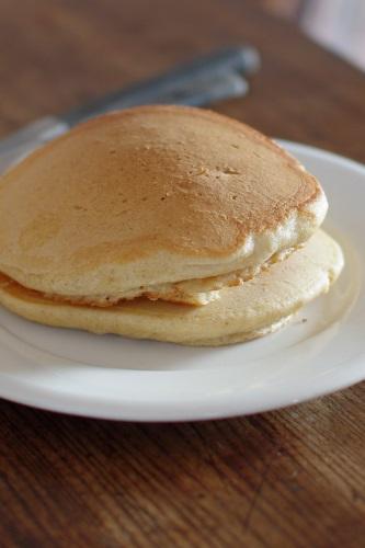 シラネ全粒粉 卵白泡立てパンケーキ・2_c0110869_11184634.jpg