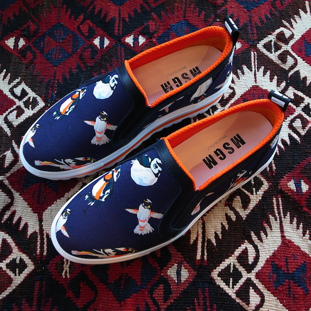MSGM HUMMINGBIRD SLIPON_f0111683_17291566.jpg