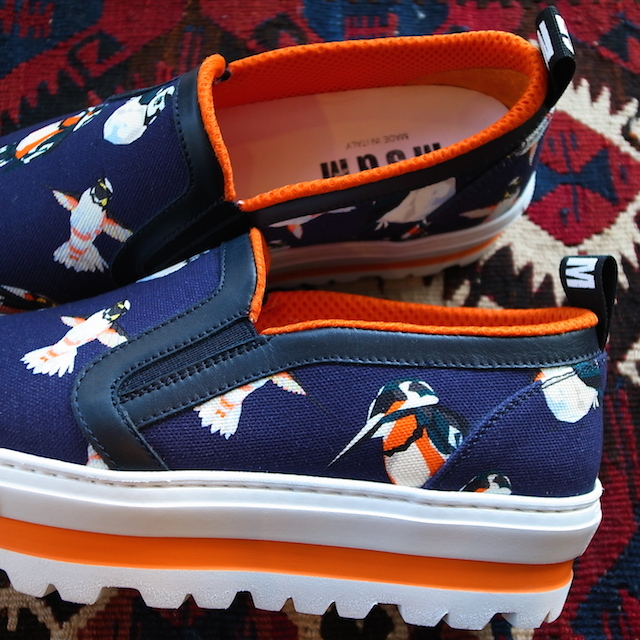 MSGM HUMMINGBIRD SLIPON_f0111683_17292599.jpg