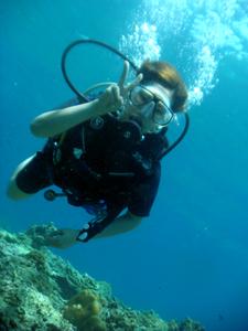 ピピ島で久しぶりのダイビングを満喫!_f0144385_840368.jpg