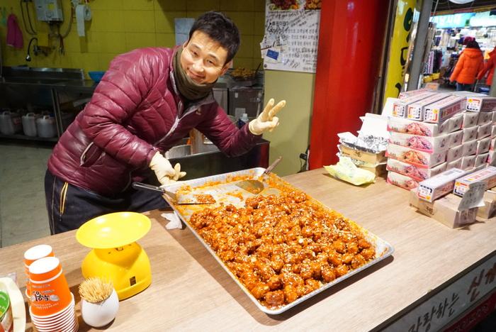 2015年、お正月釜山旅 海雲台市場(ヘウンデシジャン)と機張(キジャン)のウニ丼_a0223786_945269.jpg