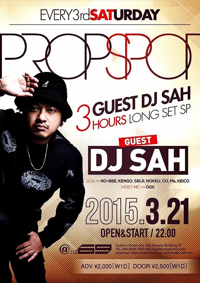 "OGK / Jackie Chan(Pro. DJ KAJI)  ... THE 3RD SATURDAY OF ""PROPSPOT"" vol.99_e0115904_11115055.jpg"