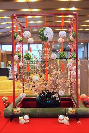 花と雛の遊びラリー / 旅館「延楽」のしつらえ_f0206212_16451638.jpg