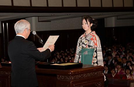 2014年度NSC合同卒業式が行われました。_b0110019_12574371.jpg