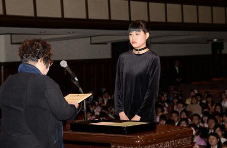 2014年度NSC合同卒業式が行われました。_b0110019_12574443.jpg