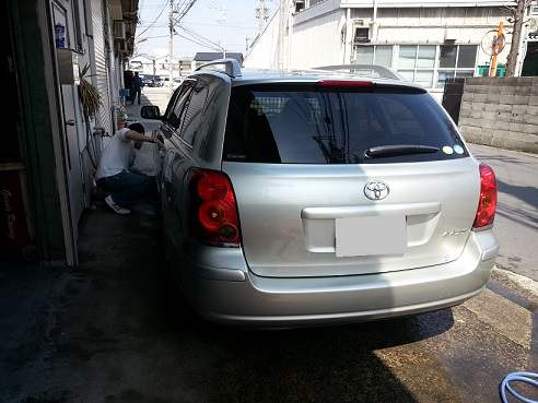 初めての洗車!(苦笑)_b0138552_2041550.jpg