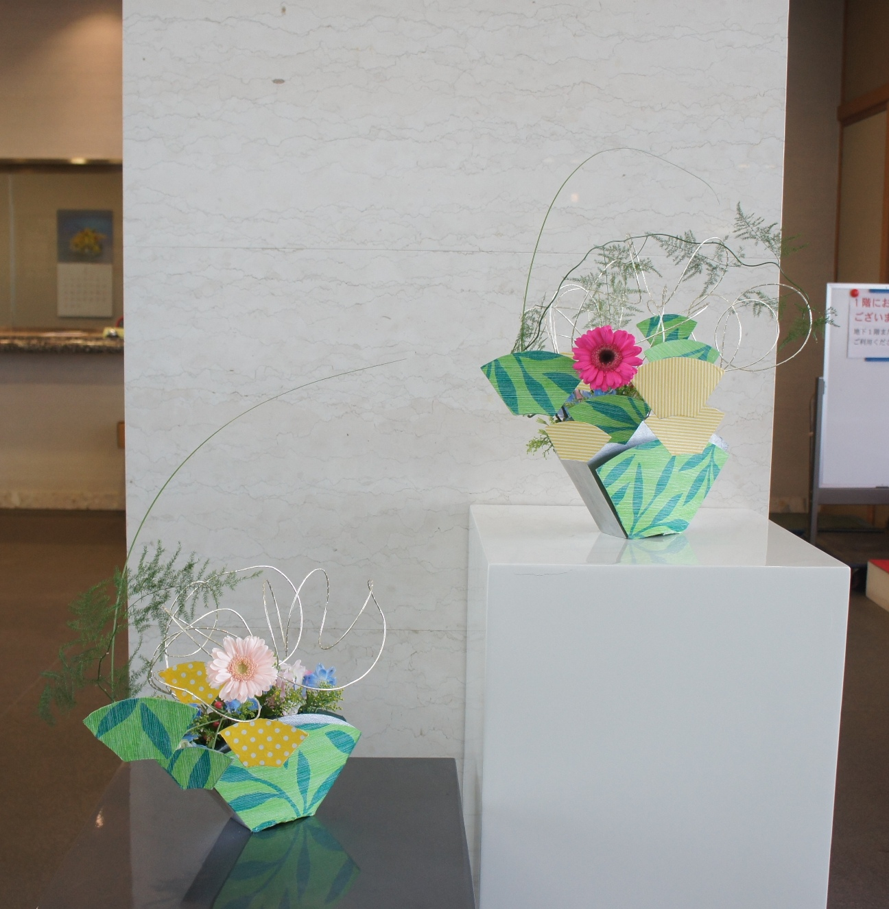 ロビーを飾る花_a0133859_11171646.jpg