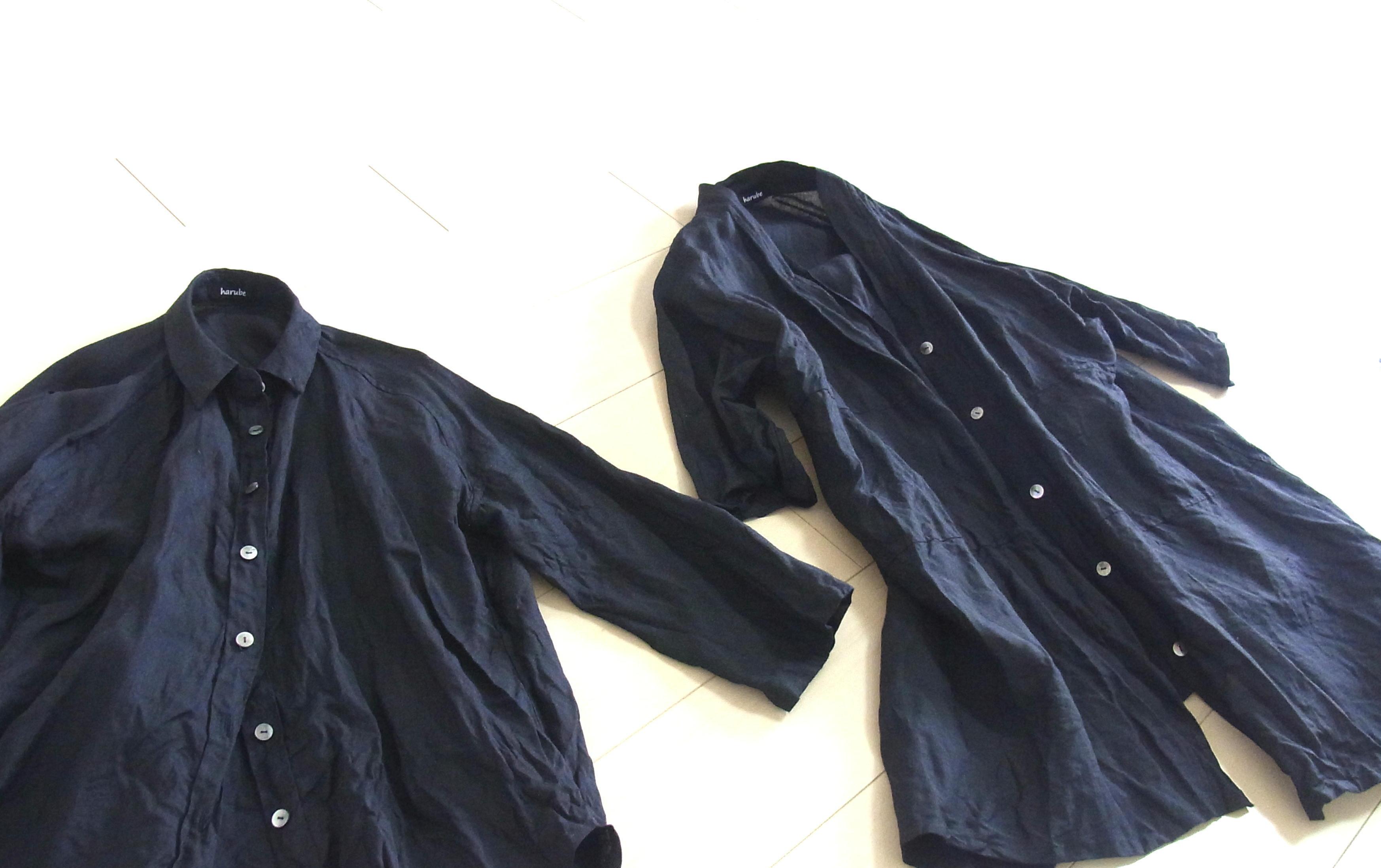 リトアニアリネン、黒のシャツ類_a0152283_09101565.jpg