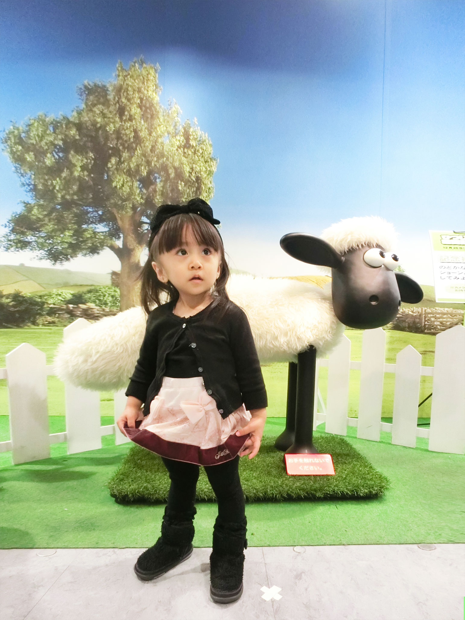 素敵な百貨店。ちくびウサギと、ショーン。_d0224894_16104582.jpg