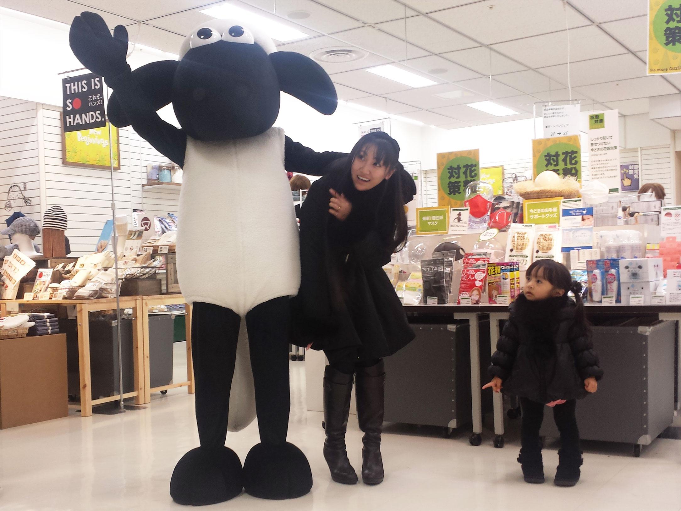 素敵な百貨店。ちくびウサギと、ショーン。_d0224894_165532.jpg