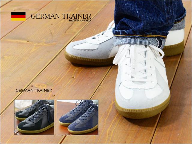 GERMAN TRAINER [ジャーマントレーナー] TRAINER SNEAKER [1183] MEN\'S_f0051306_20495257.jpg