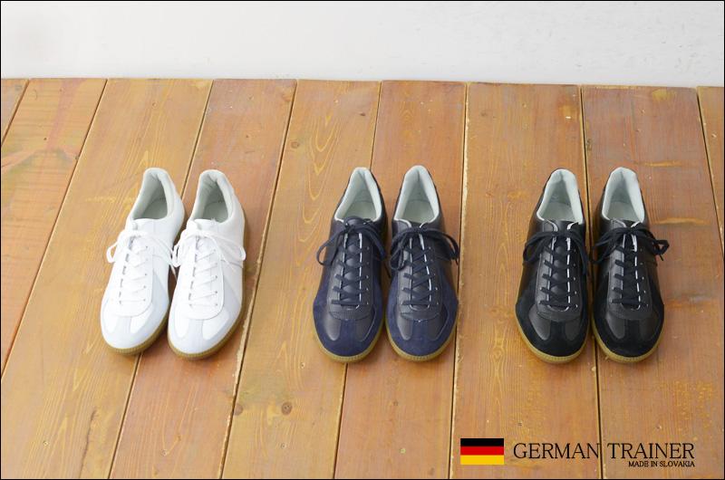 GERMAN TRAINER [ジャーマントレーナー] TRAINER SNEAKER [1183] MEN\'S_f0051306_20495467.jpg