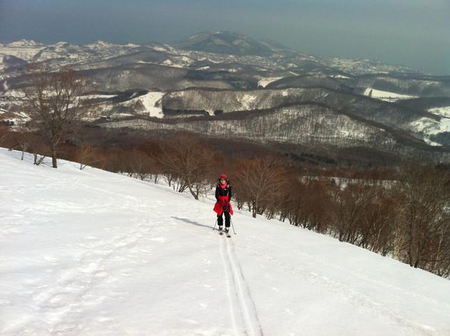 """2015年3月 「春も定番の塩谷丸山へ」 March 2015 \""""Spring ski in our homeground Shioya-Maruyama\""""_c0219616_1674187.jpg"""