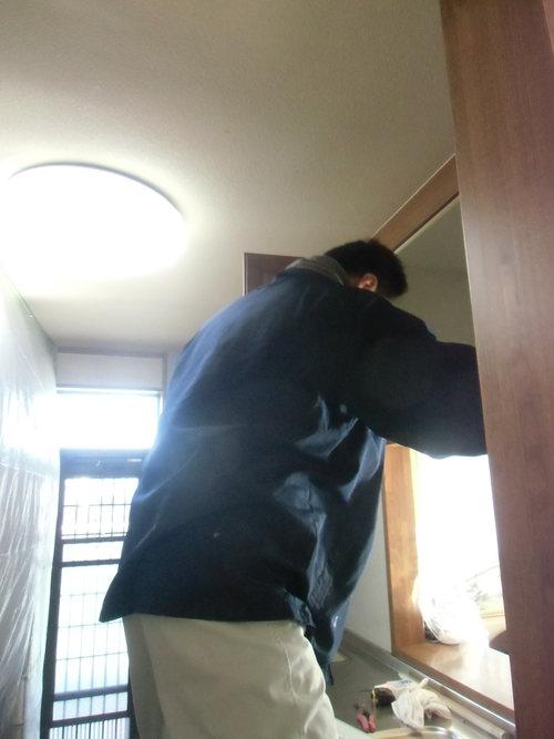 O様邸(西区南観音)キッチンリフォーム工事_d0125228_7504529.jpg