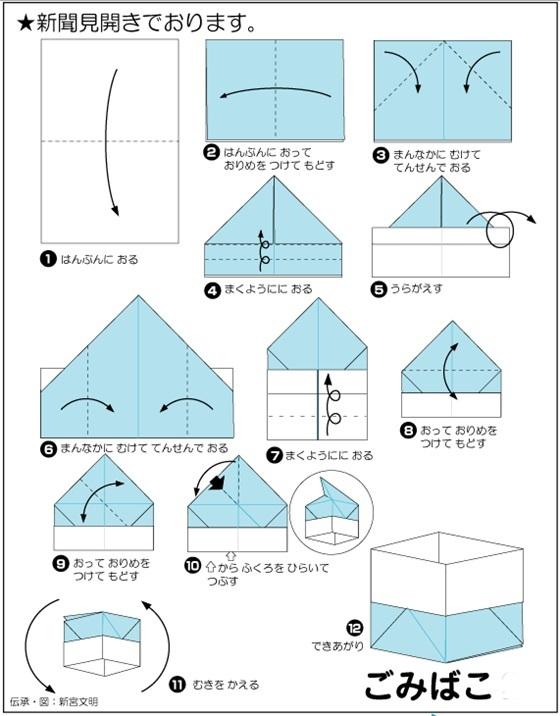 ハート 折り紙 新聞紙 箱 折り方 : nagotu3819.exblog.jp