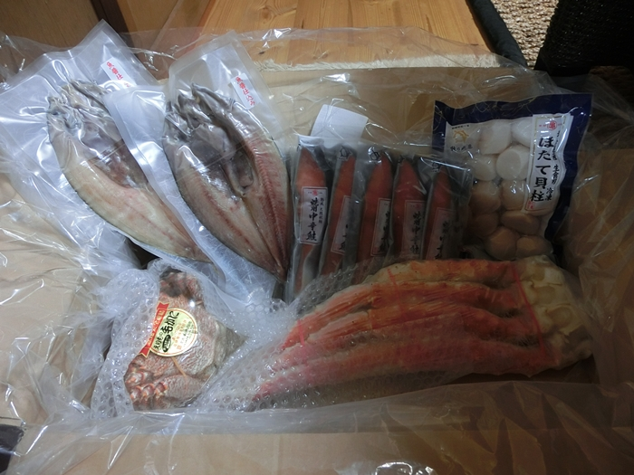 北海道の海産物がたくさん・・・_a0199979_1591231.jpg