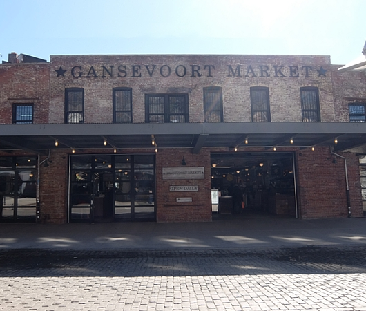 NYのミートパッキング地区にできた「ガンズボート・マーケット」(Gansevoort Market)_b0007805_1004549.jpg