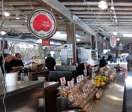 NYのミートパッキング地区にできた「ガンズボート・マーケット」(Gansevoort Market)_b0007805_101552.jpg