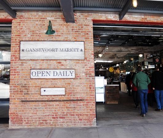 NYのミートパッキング地区にできた「ガンズボート・マーケット」(Gansevoort Market)_b0007805_1123215.jpg