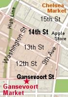 NYのミートパッキング地区にできた「ガンズボート・マーケット」(Gansevoort Market)_b0007805_9592510.jpg