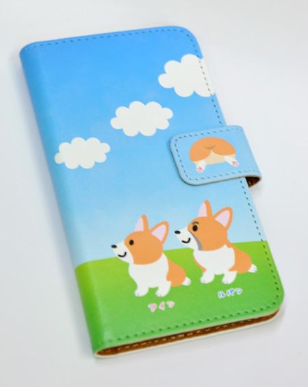 アインちゃん&ルパンくん 手帳型iPhoneケース_d0102523_2010490.jpg