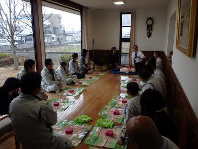 AED設置に伴う講習会を開催しました。_f0151251_9263067.jpg