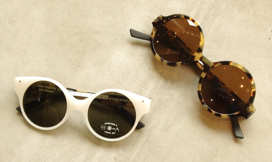 「VERY FRENCH GANGSTERS sunglasses」_f0208675_19202477.jpg