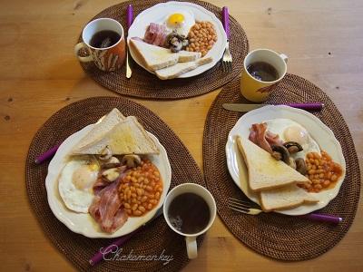 Mother\'s Dayの朝ごはんはEnglish Breakfast_f0238789_0235523.jpg