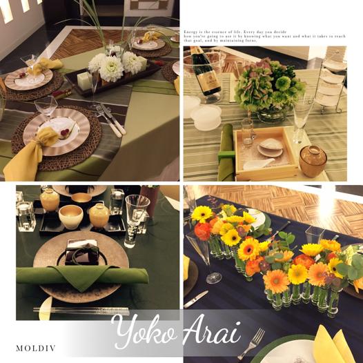 生徒さんの展示テーブル_d0049817_1612398.jpg