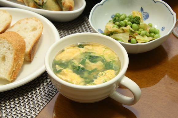 お休み前のおうちバルは、海老チリ&餃子です。_c0326245_09272702.jpg