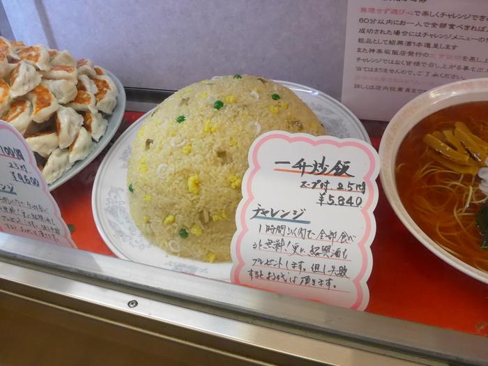 「神楽坂飯店」のジャンボ餃子を食べる。_f0232060_1439040.jpg