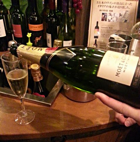 ワイン(シャンパンあり)飲み放題1990円♪「ESOLA」@田町_b0051666_20185677.jpg