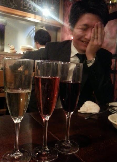 ワイン(シャンパンあり)飲み放題1990円♪「ESOLA」@田町_b0051666_2020533.jpg