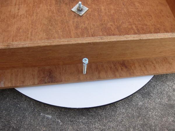 60cmドブソニアン自作記(134) 水平回転部を改良する_a0095470_8284023.jpg