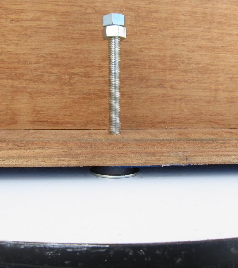 60cmドブソニアン自作記(134) 水平回転部を改良する_a0095470_8293955.jpg