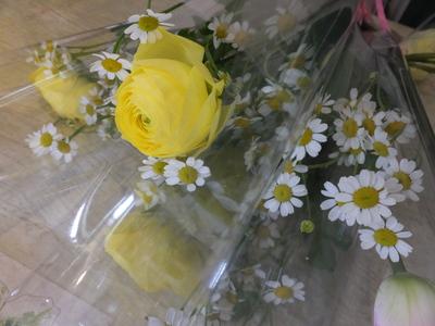 オークリーフ(卒業式の花束)_f0049672_16143858.jpg