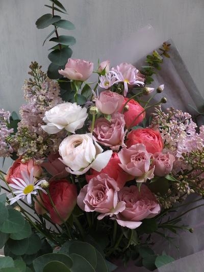 オークリーフ(卒業式の花束)_f0049672_16161781.jpg