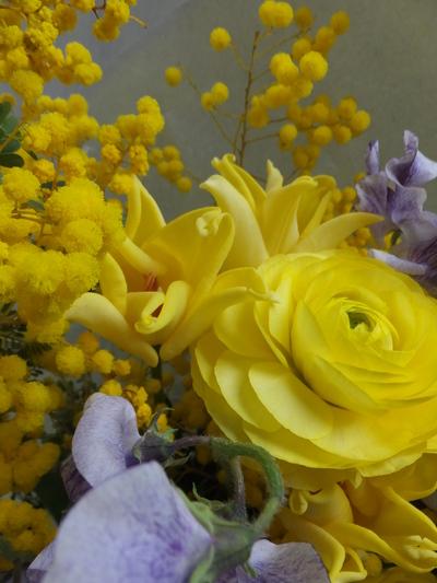 オークリーフ(卒業式の花束)_f0049672_16162799.jpg