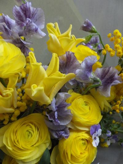 オークリーフ(卒業式の花束)_f0049672_1616342.jpg