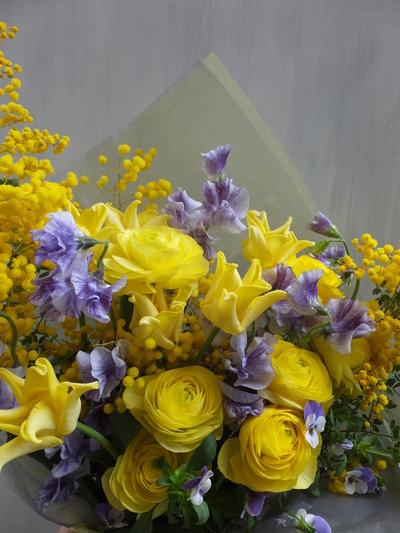 オークリーフ(卒業式の花束)_f0049672_16164225.jpg