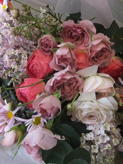 オークリーフ(卒業式の花束)_f0049672_16165055.jpg
