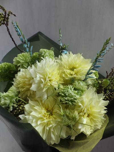 オークリーフ(卒業式の花束)_f0049672_16394163.jpg